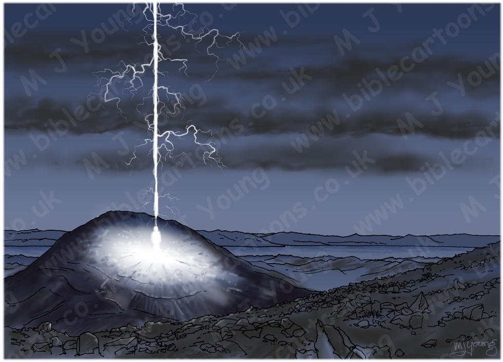 Matthew 24 - Jesus return as lightning