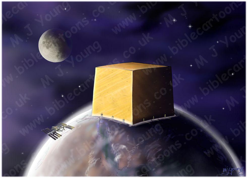 Revelation 21 - Cubic New Jerusalem 20