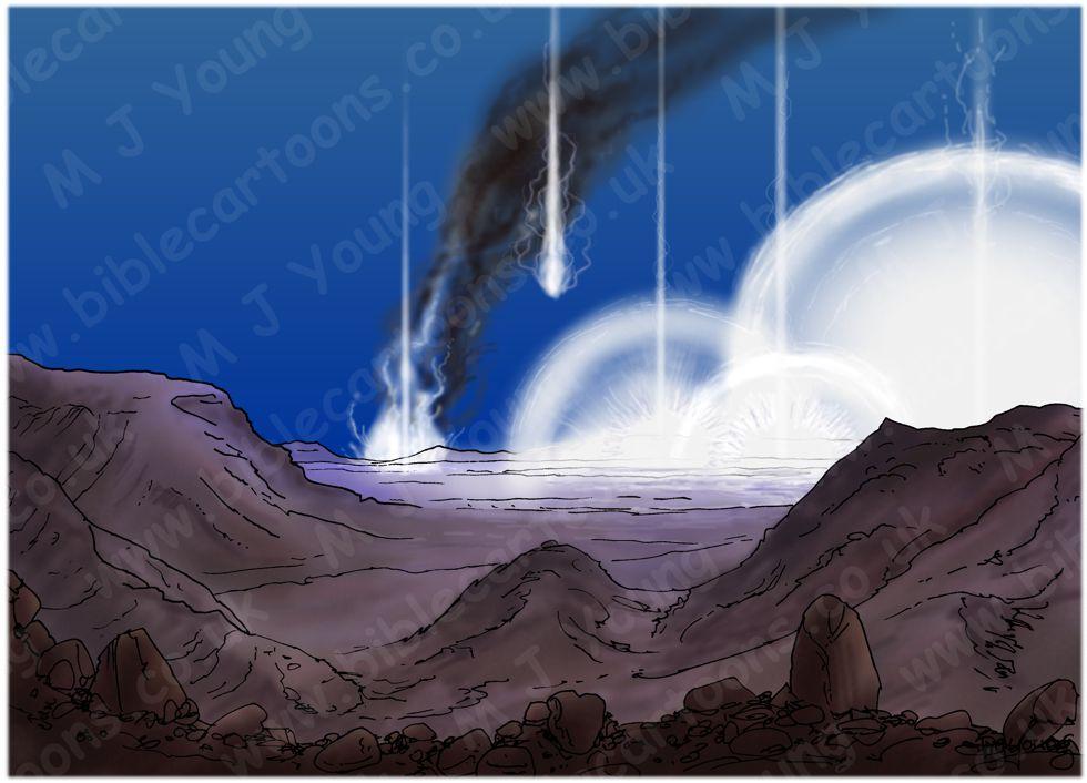 Genesis 19 - Sodom & Gomorrah - Scene 08 - Fire from Heaven
