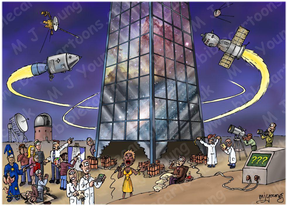 Cosmos as building metaphor