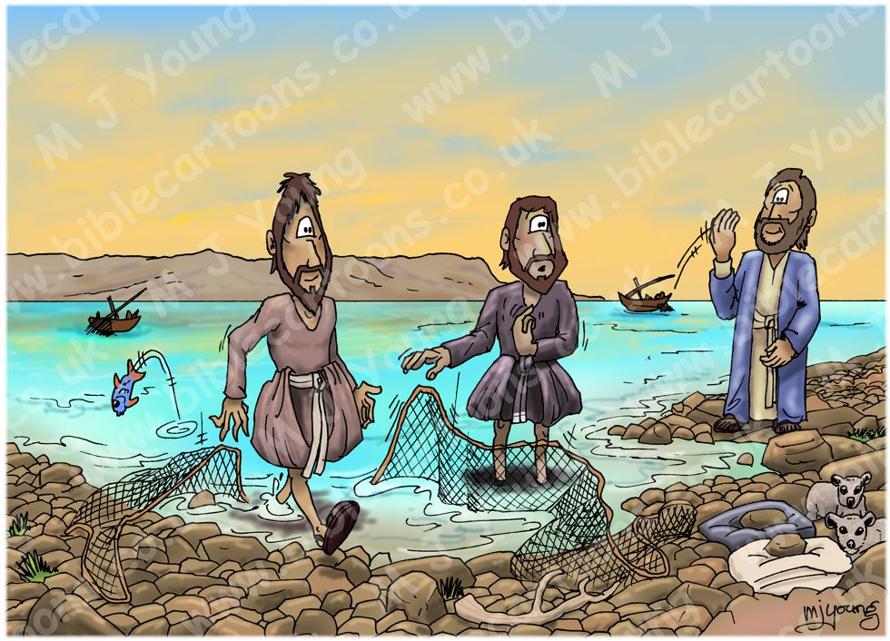 Matthew 04 - Jesus calls Simon & Andrew