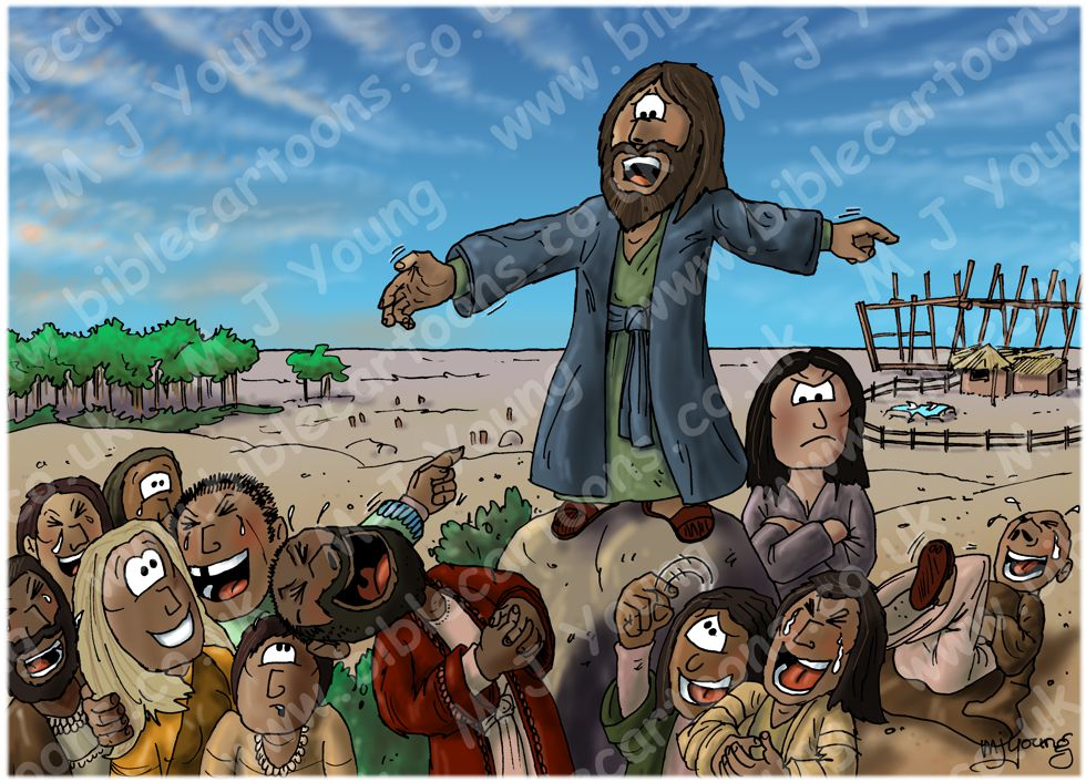 Genesis 06 - Before the Flood - Noah preaching