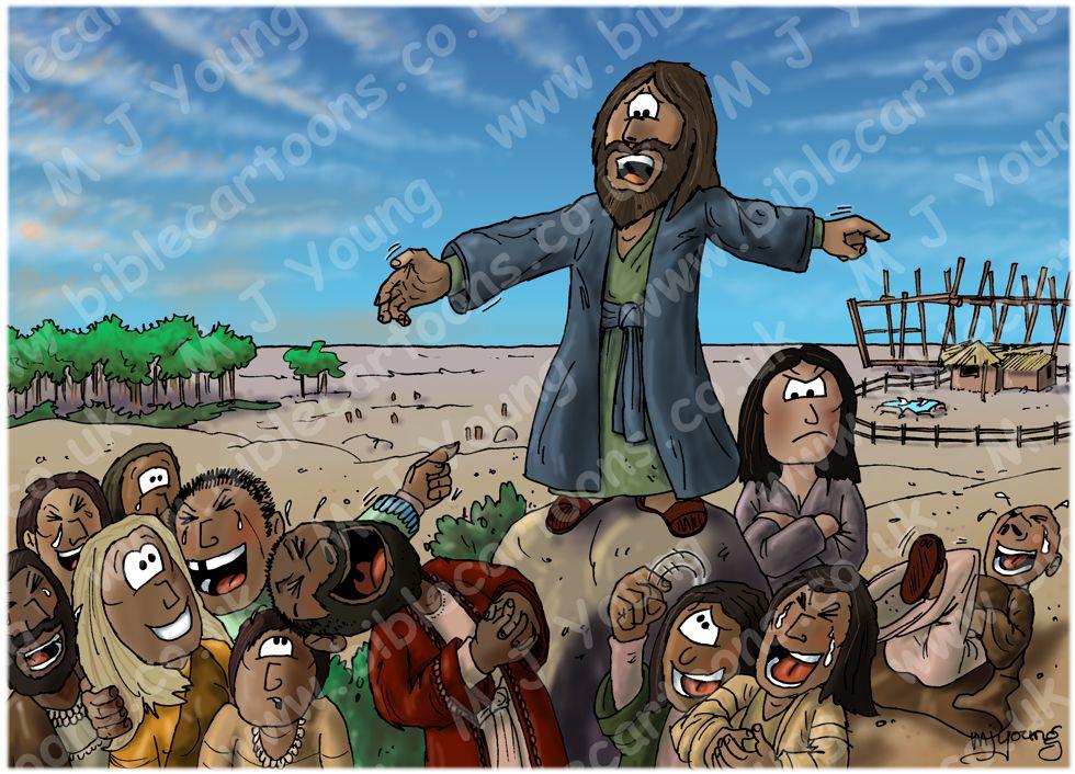 Genesis 06 - Before the Flood - Noah preaching