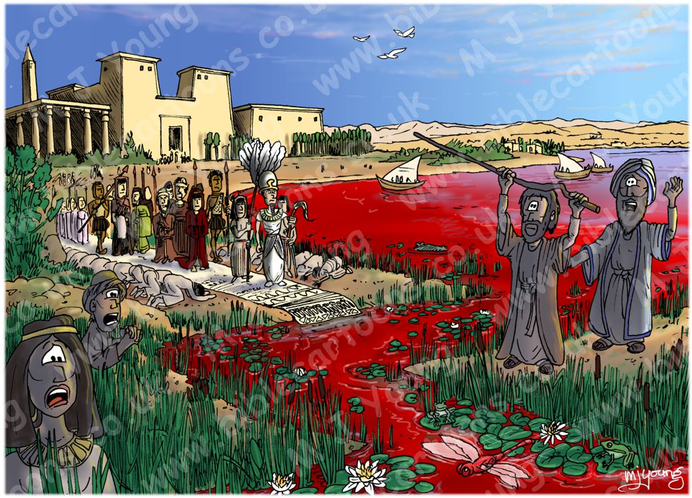 Exodus 08 - The ten plagues of Egypt - Plague of blood