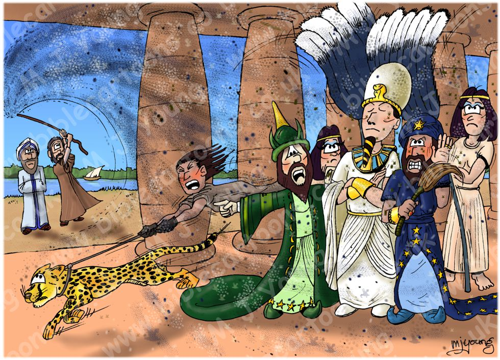 Exodus 08 - The ten plagues of Egypt - Plague of gnats