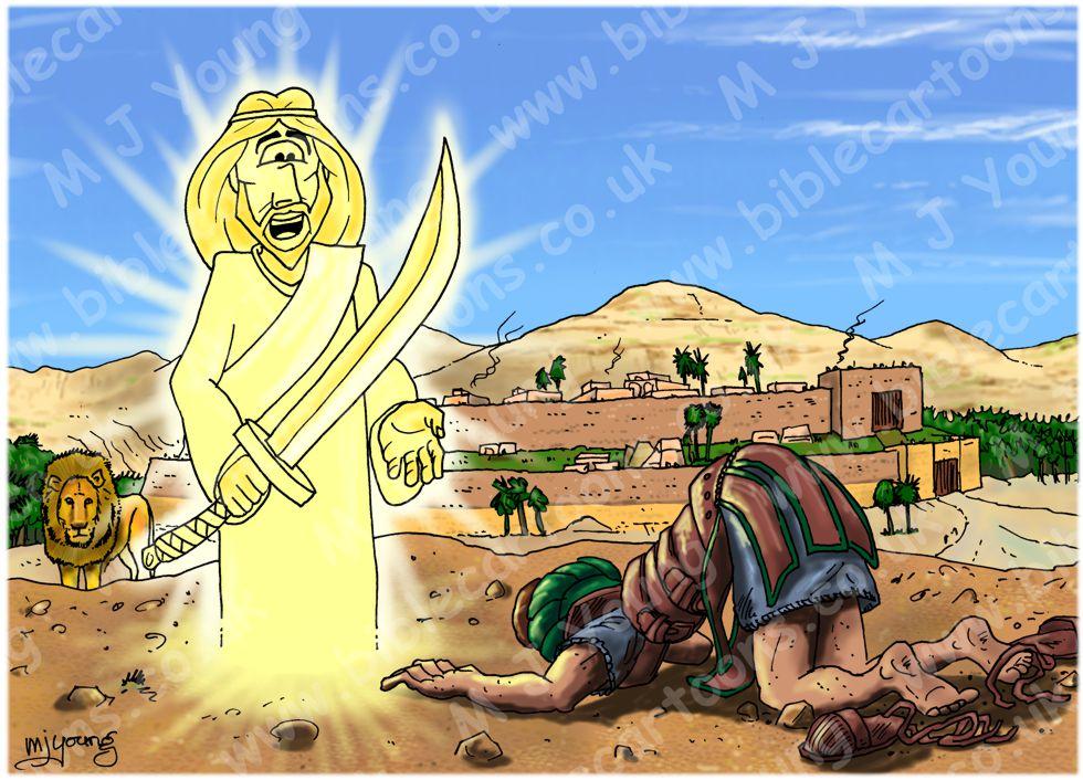 Joshua 05 - Fall of Jericho - Scene 01 - Commander