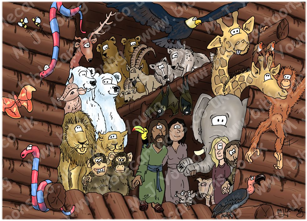 Genesis 08 - The Flood - Scene 07 - Leaving the Ark