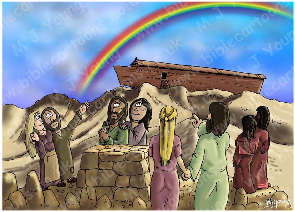 Genesis 09 - The Flood - Scene 08 - Rainbow