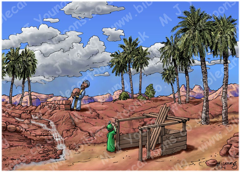 Matthew 07 - Parable of wise & foolish builders - Scene 02 - Building