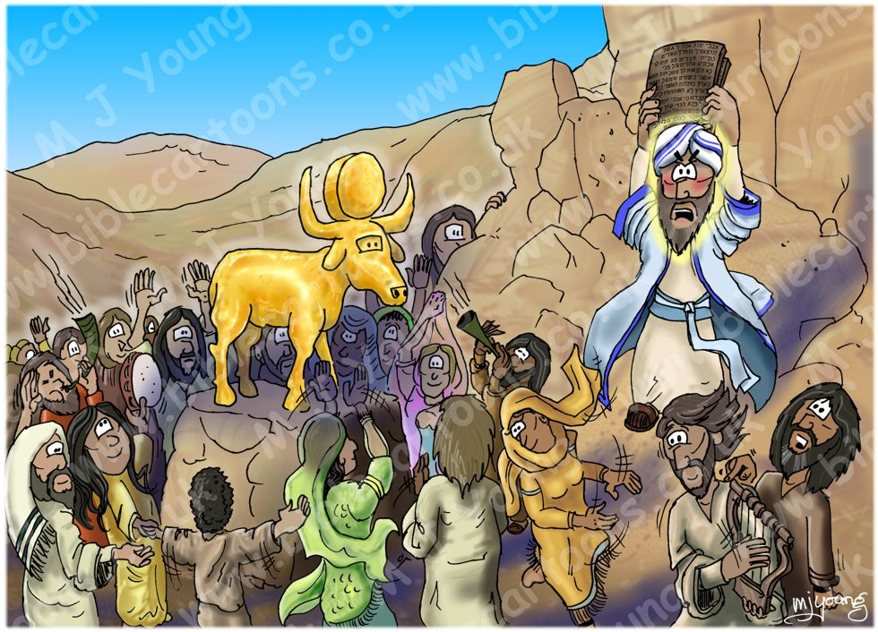 Exodus 32 - Golden calf