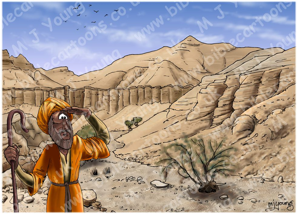 Matthew 18 - Parable of lost sheep - Scene 02 - Searching