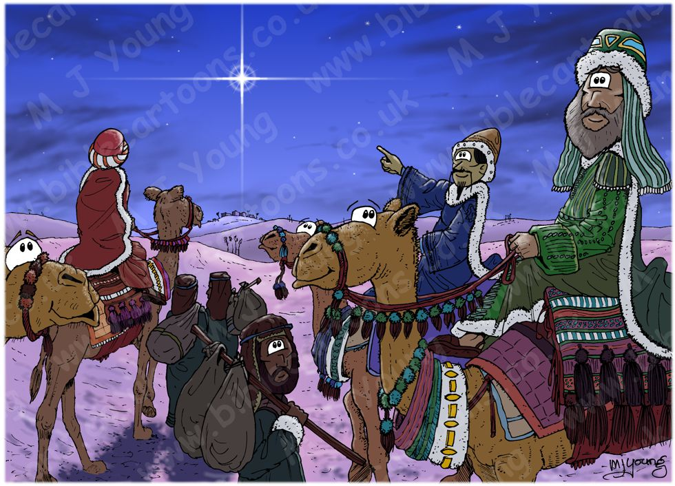 Matthew 02 - The Nativity - The Star