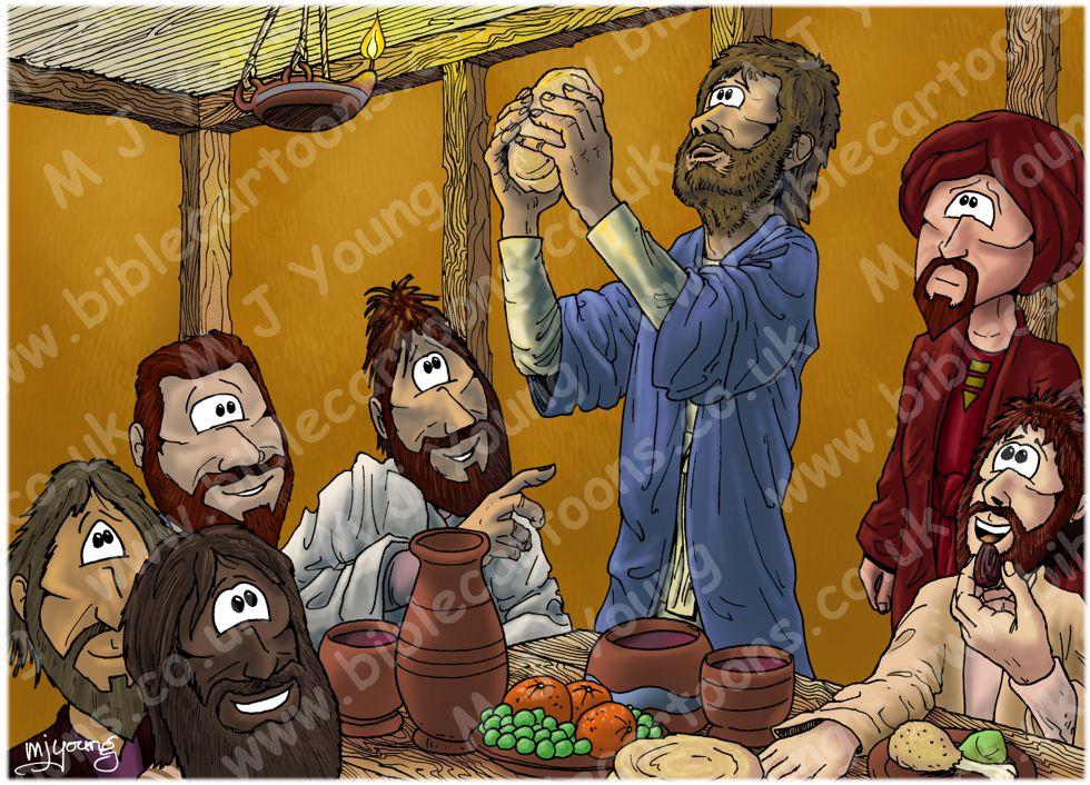 Mark 14 - The Lord's Supper - Scene 06 - Bread