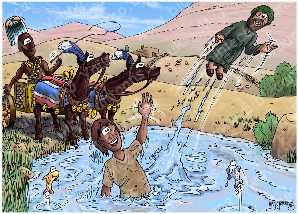 Acts 08 - Philip & the Ethiopian eunuch - Scene 05 - Snatched away (Rocket)