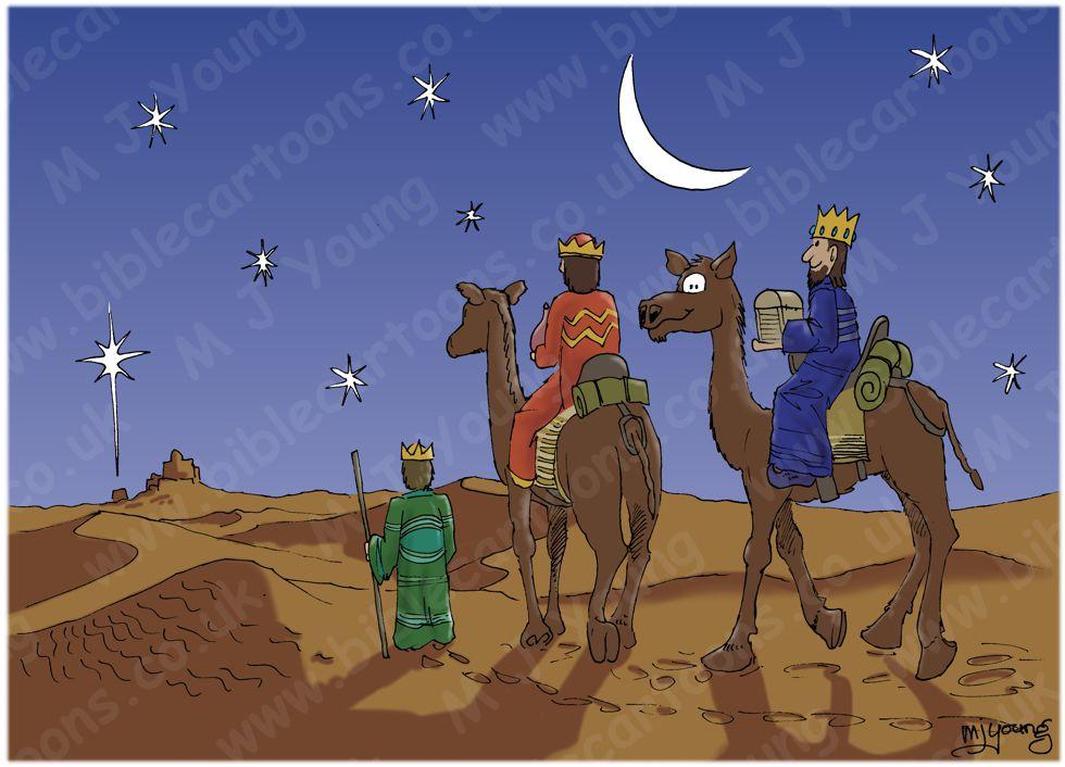 Matthew 02 - The Nativity - 3 wise men