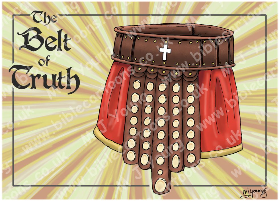 Ephesians 06 - Armour of God  - Belt (Yellow)