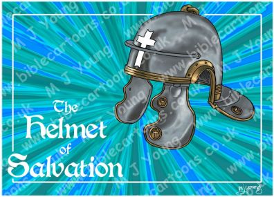 Ephesians 06 - Armour of God - Helmet of Salvation (Blue) 980x706px.jpg