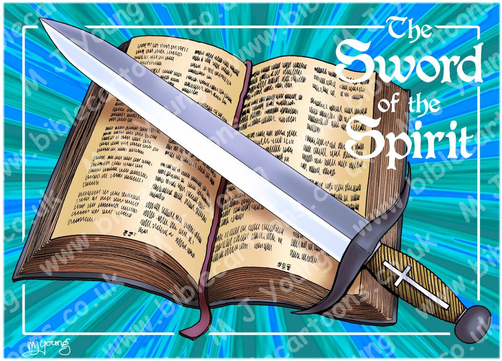 Ephesians 06 - Armour of God  - Sword (Blue)