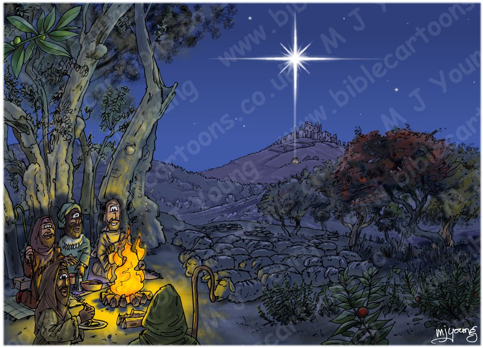 Luke 02 - The Nativity - Scene 03 - Shepherds
